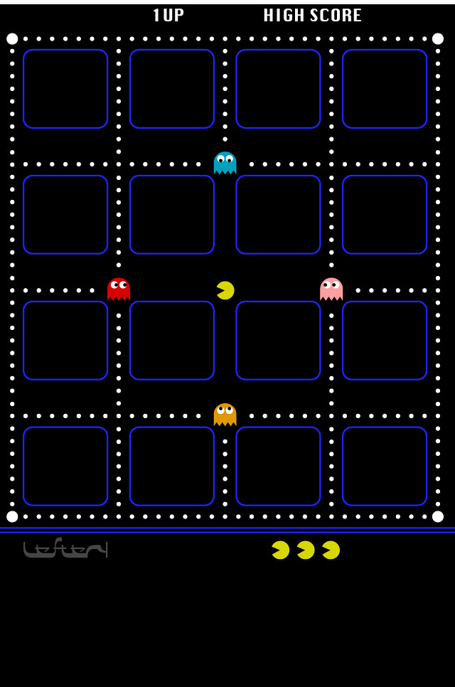 PacMac Wallpaper Amended Leftery Art Tags Pacman Iphone