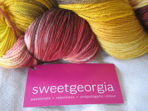 SweetGeorgia Yarns - Firefly Label
