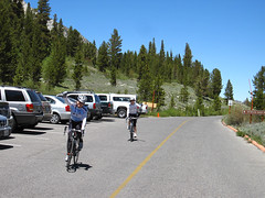 Arriving Mosquit Flat (elev. 10220ft) Photo