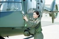 bw12 (Military Ingrid) Tags: woman female soldier army women uniform military air helicopter german frau airforce hubschrauber bundeswehr soldatin