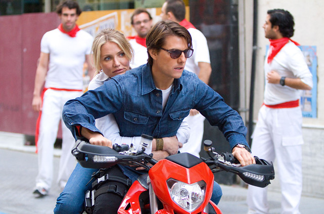 Tom Cruise and Cameron Diaz ride a wave of movie tropes in 'Knight and Day'.