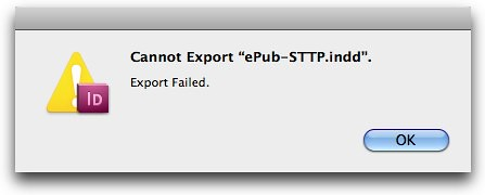 Cannot Export ePUB. Export Failed.-2