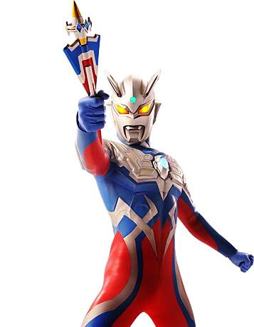 Ultraman Zero New Form Keris Types Naga Sostr...