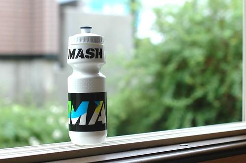 MASH water bottle