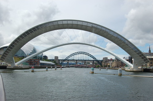 Gateshead Millennium Bridge open Jul 10 2
