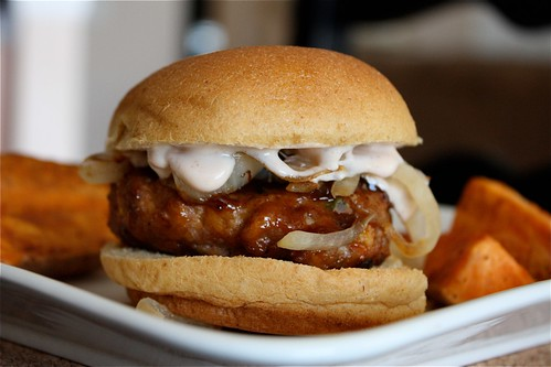 Smoky BBQ Turkey Burger Sliders
