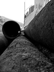 Oxido... (Ibar Silva) Tags: chile rat web pipe oxido ratones morro arica tubos oxide caerias baldio telaraas faldas peladero