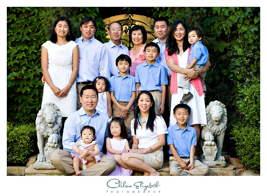 Santa Barbara Extended family portrait photography