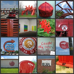 Picnik collage: Red