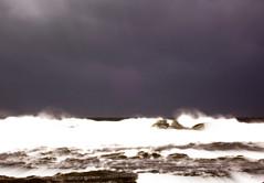 Rough Weather at Caloundra (cherryblossom1) Tags: ocean rocks wind windy queensland sunshinecoast caloundra jol greatphoto southeastqueensland roughweather goldstaraward scenicsnotjustlandscapes stormshugewaves