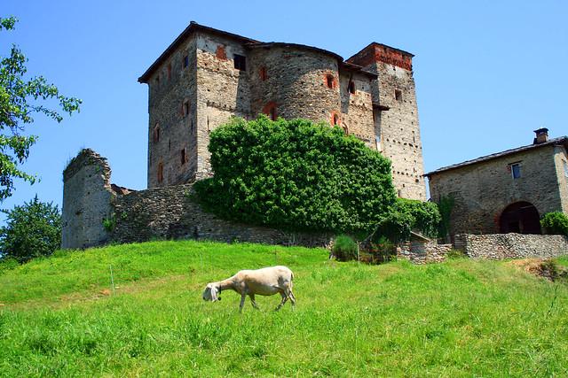 Foto del Castello di Bagnolo Piemonte Italia