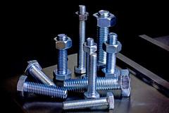 Nuts and Bolts (tudedude) Tags: macro thread screw model steel machine engineering tools workshop bolt precision nut fitting wingnut gbr fastener threaded nutbolt hexhead caphead machinescrew countersunk posidrive tudedude
