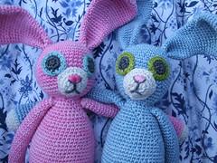 BFF (MiA Inspiration) Tags: rabbit toy crochet amigurumi bunnie