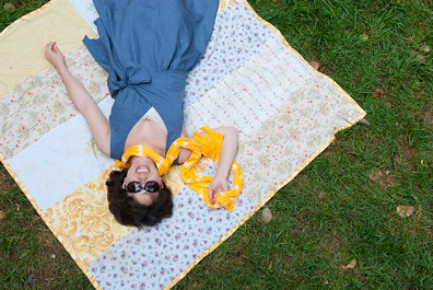 sunday picnic blouse & dress pattern