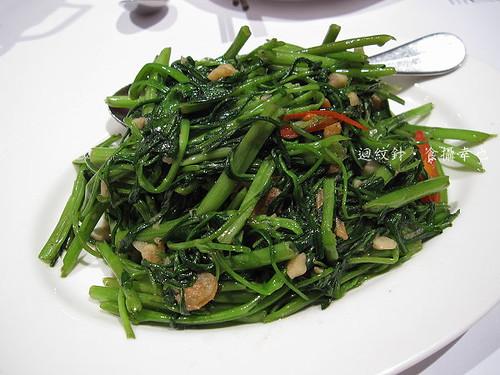 瓦城蝦醬空心菜