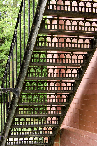 Stairs at Hesketh Park