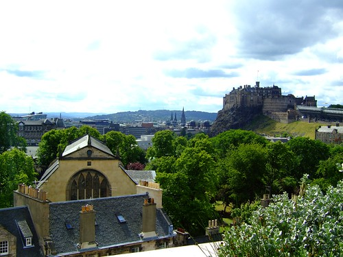 Greyfriar's and Castle from Museum roof