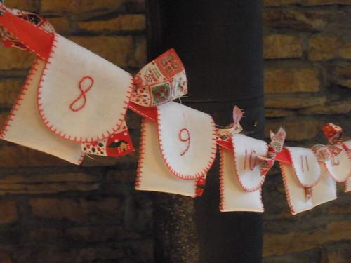 Advent Calendar Pockets 8-12