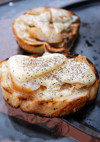Smoked Scallop Grilled Cheese