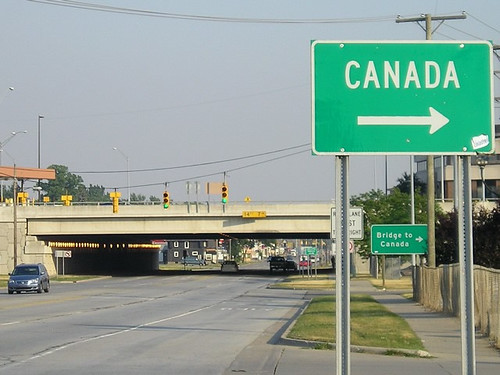 signs for Canada