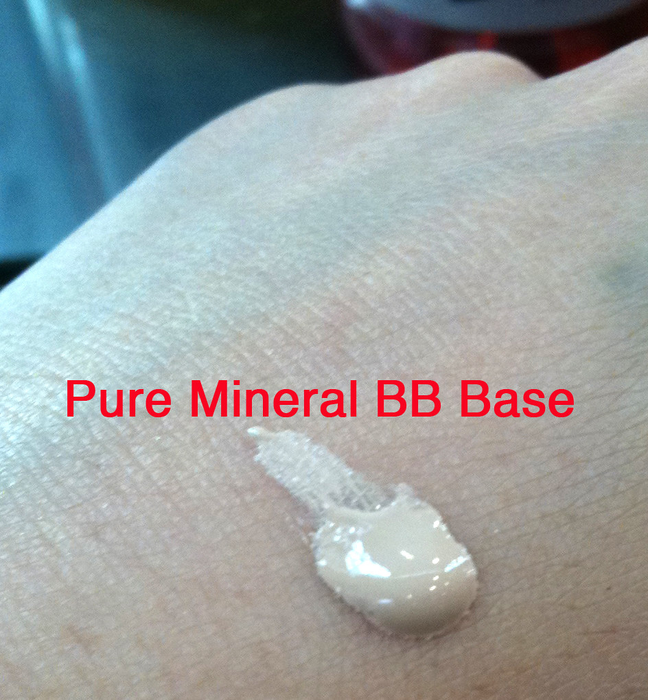 maybelline pure mineral bb base