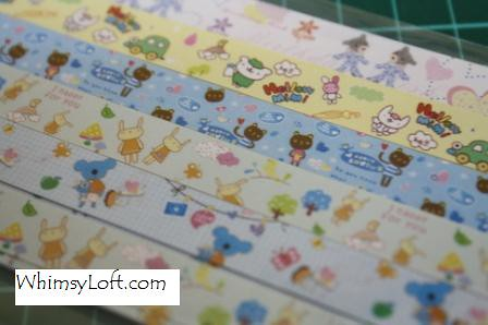 Sticker Tape Bears & Rabbits