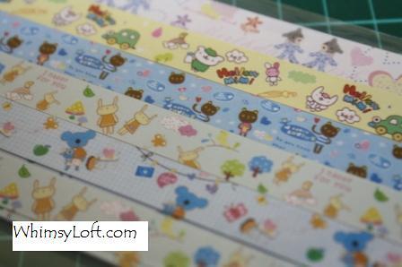Sticker Tape Bears & Rabbits