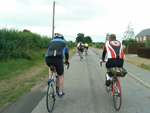 Darryl, Congleton Audax 100km