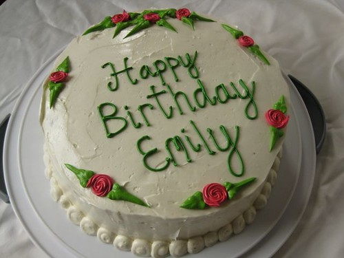 HAPPY BIRTHDAY EMILY (Rain)