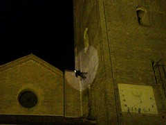 Verticality - The ghost climbs the belltower (Mammaoca2008) Tags: verticality
