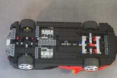 Bugatti Veyron (lego911) Tags: auto sports car model lego engine motor chassis bugatti supercar sportscar veyron w8 moc ldd eurobricks
