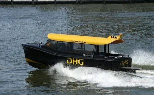 Taxi en Rotterdam