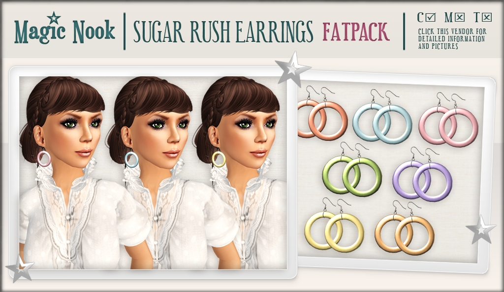 [MAGIC NOOK] Sugar Rush Earrings