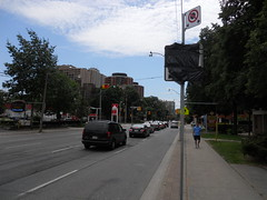 DSCN2309 (Sweet One) Tags: road street urban toronto ontario canada cars bike bicycle centre lane infrastructure jarvis streetscape improvement traffice lanes reversible