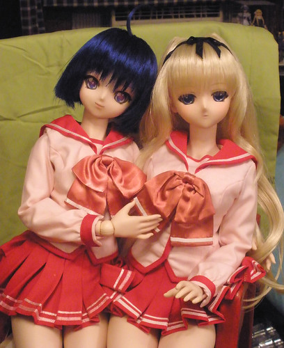 Aoi and Sarasa