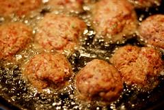 Fried Meatballs (Ciara*) Tags: food dinner wonderful fry amazing italian grandmother sunday best meat delicious oil scrumptious pan meatballs delightful geegee