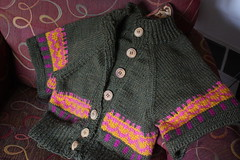 Cropped Cardi Completion