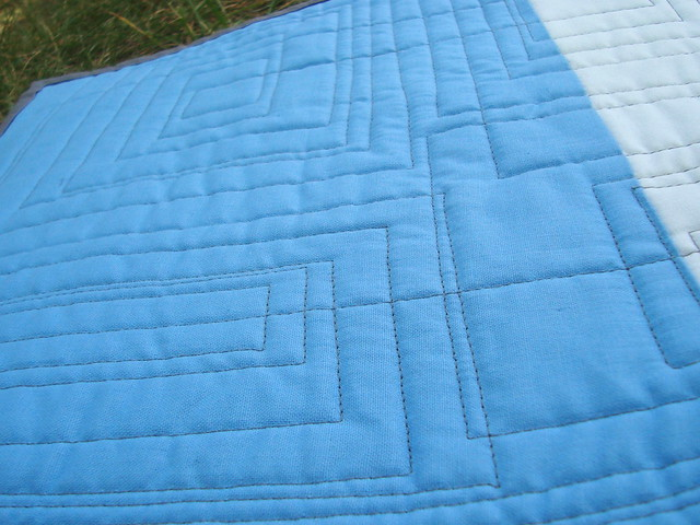 ice challenge quilting closeup