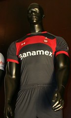 Toluca Under Armour 2010/11 Home, Away and Third Jerseys