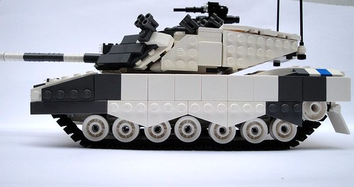 "C5A ""Arctic Wolf"" Main Battle Tank Suspension"