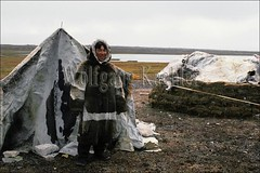 00032120 (wolfgangkaehler) Tags: camp people canada traditional tent inuit northamerica northwestterritories nunavut traditionaldress eskimo hudsonbay huntingcamp southhampton northamerican sealskin peopleworldwide southhamptonisland nativepoint