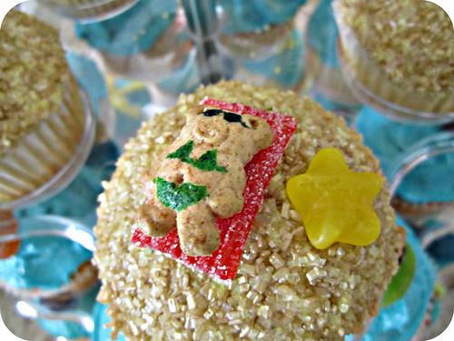 Autumn's artistic cupcakes :)