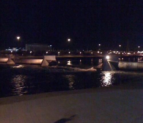 Tempe Town Lake Dam bursts