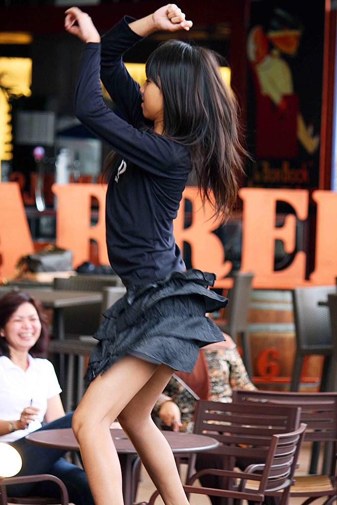 Little black hot girl grinding