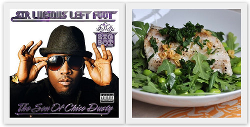 4815108997 9fc84e216b Musical Pairings: Big Boi   Sir Lucious Left Foot: The Son of Chico Dusty (paired w/ grilled black cod with fried garlic and red chili flakes)