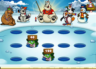 free Polar Bash gamble bonus game