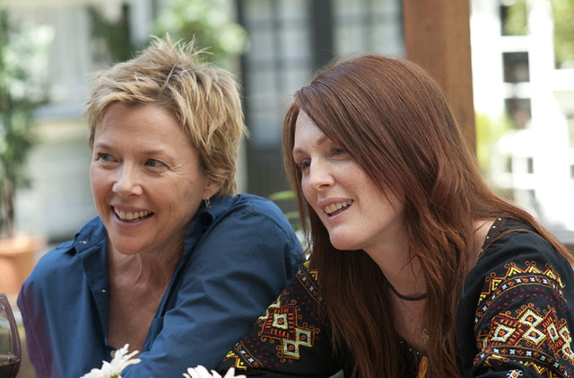 Annette Bening and Julianne Moore are the perfectly flawed couple in 'The Kids Are All Right'.