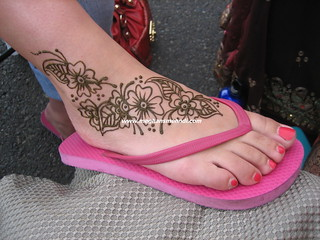 Floral foot