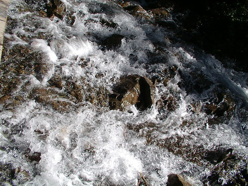 river rushing bye