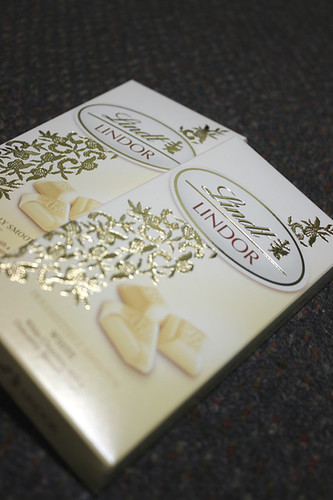 Things I love: Lindt White Chocolate